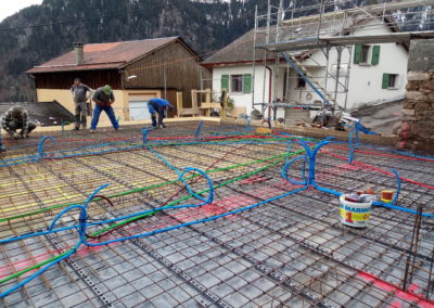 Exécution d'une dalle pour villa à Miex