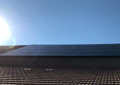Installation 48 modules solaires en sur toiture à Vuisternans