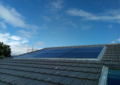 Installation de 9 modules solaires à Antagne