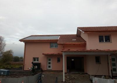 Installation 40 modules solaires en intégré au Bouveret