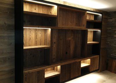 Mise en valeur meuble TV à Villars