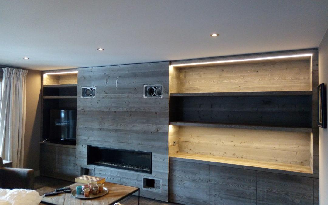 Mise en valeur meuble TV à Villars – Chouchic