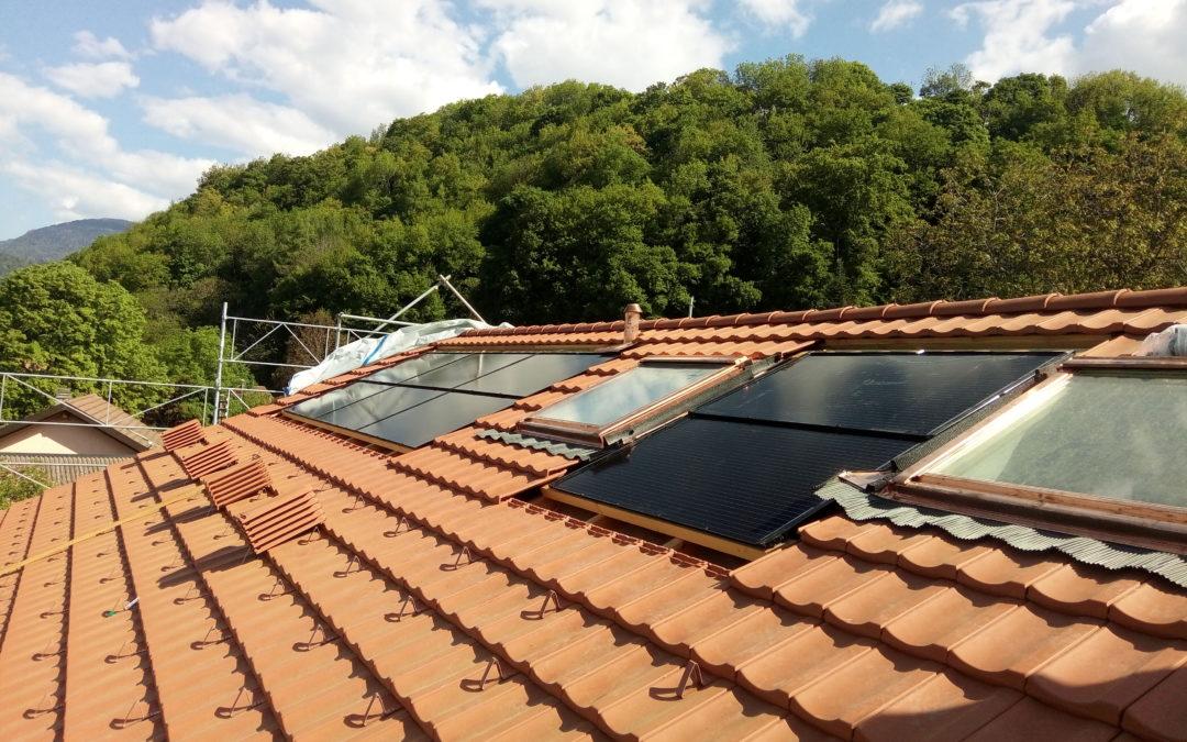Installation 8 modules solaires en intégré à Antagnes