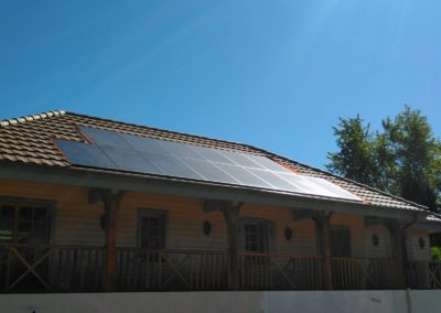 Installation 14 modules solaires en intégré à Nyon