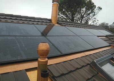 Installation 8 modules solaires en intégré à Vernier