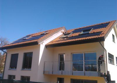 Installation 18 modules solaires en intégré à Bogis-Bossey