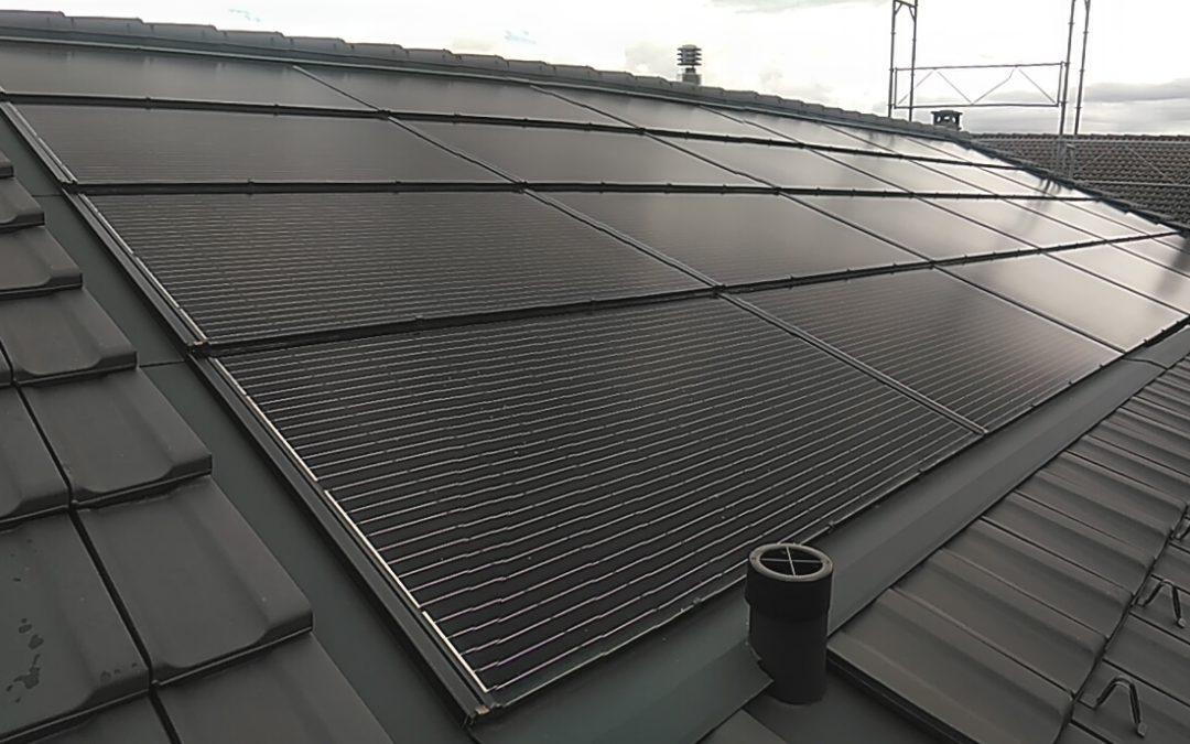 Installation 24 modules solaires en intégré à St-Gingolph